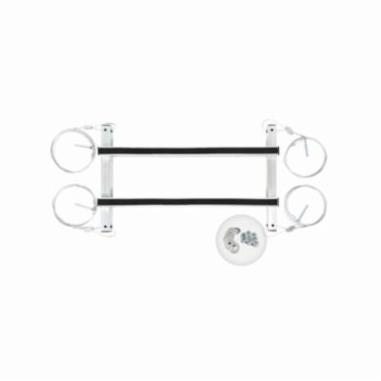 "Aprilaire Hanging Kit for 1820/1830 Dehumidifier, 29-7/8"" x 18"" x 6-15/16"", Zinc Plated, 14 Gauge Steel"