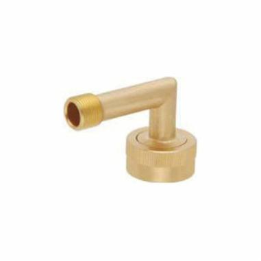 Matco-Norca™ DWLLF Dishwasher Elbow, For Use With DWL Dishwasher, 3/8 in OD Compression x 3/4 in Garden Hose Swivel, Brass