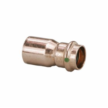 """3/4"""" x 1/2"""" Copper Press Fitting Reducer Coupling"""
